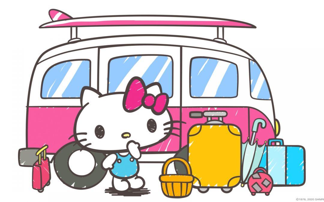 ¡Vive el road trip más hermoso con la segunda temporada de Hello Kitty Fun!